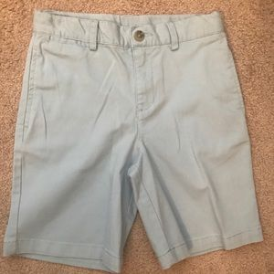 Boys light blue Polo chino shorts